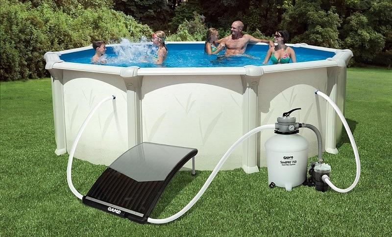 Quel chauffage pour une piscine hors sol